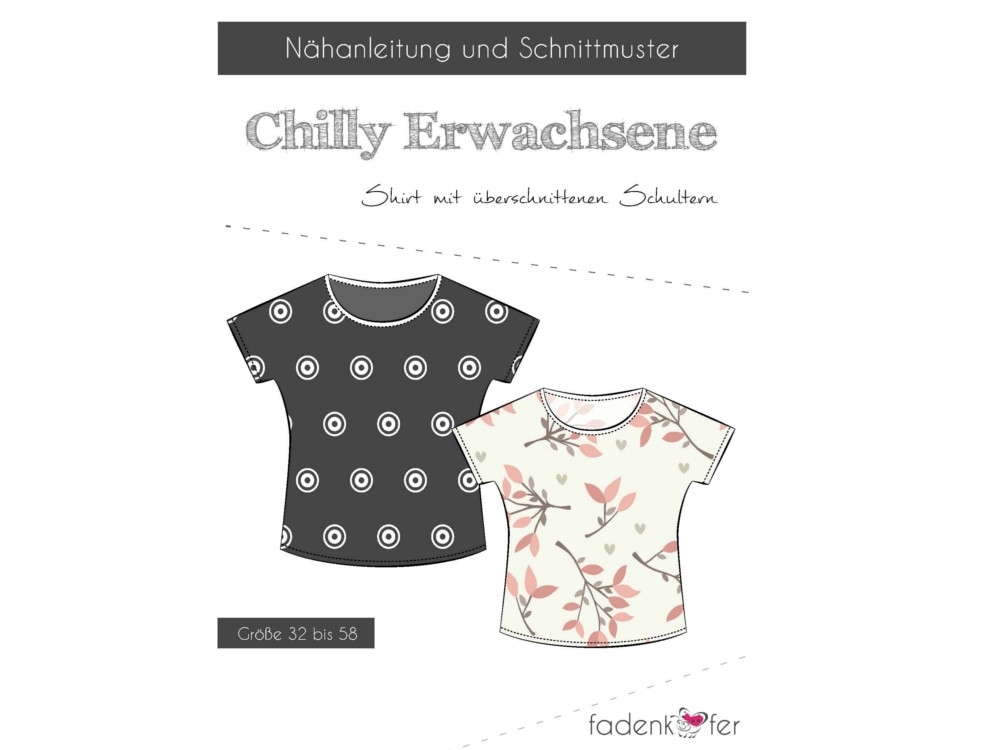 Fadenkäfer Chilly Adults Shirt paper pattern
