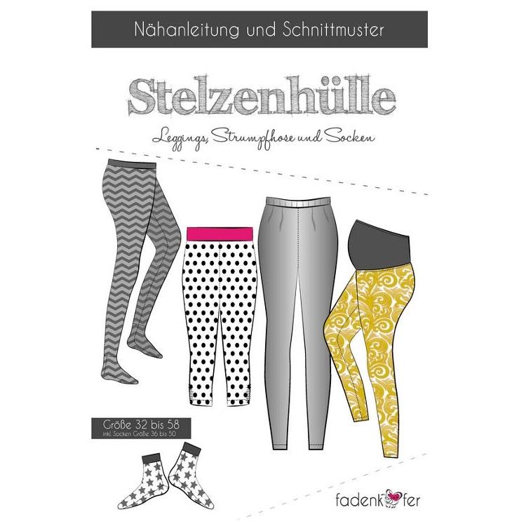 Fadenkäfer Stelzenhülle Damen Papierschnittmuster | stoffe-hemmers.de