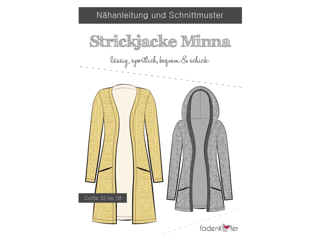Fadenkäfer Strickjacke Minna Damen 32-58
