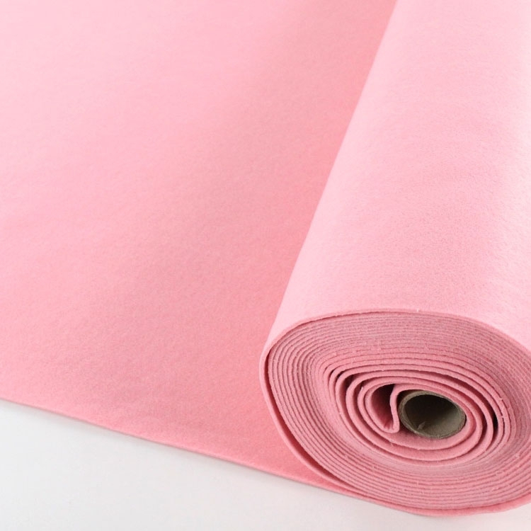 Vilt, 3 mm, 90 cm breed, roze | 7071-012 | rosa