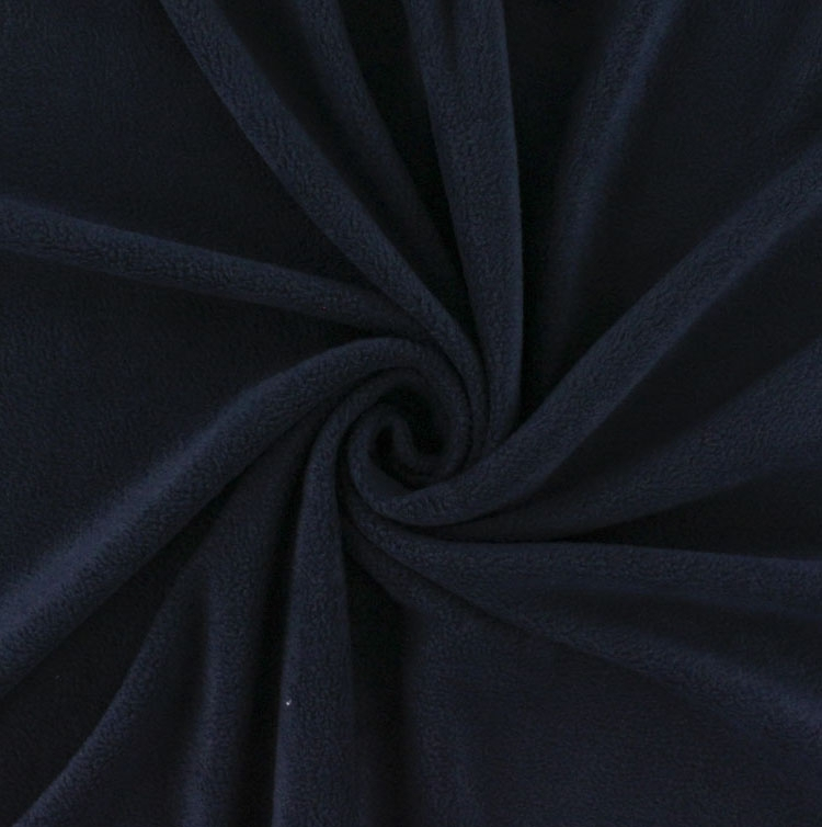 Fleece Antipilling dark blue