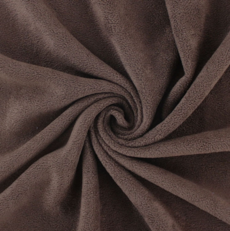 Fleece Antipilling dark brown