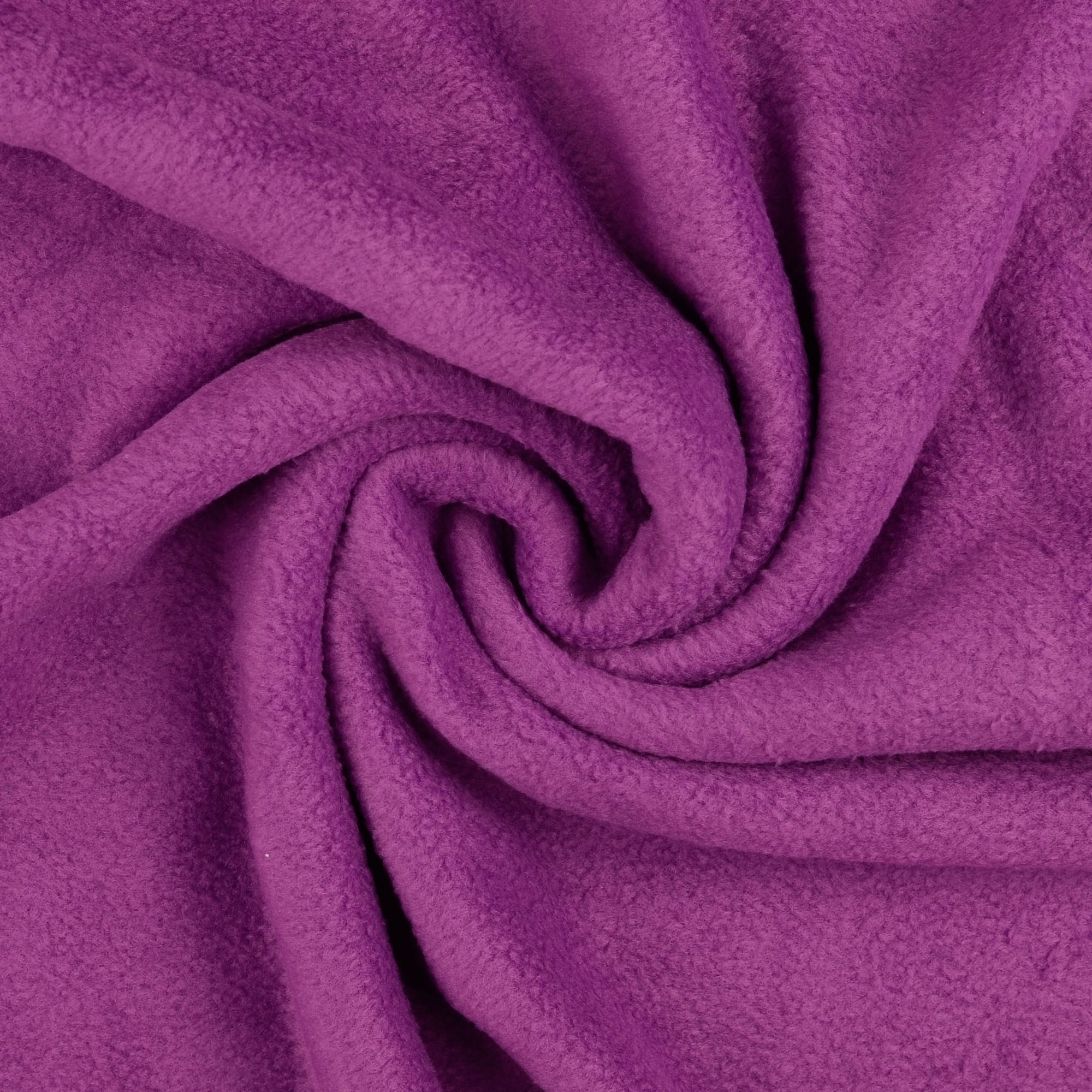 Fleece antipilling purper
