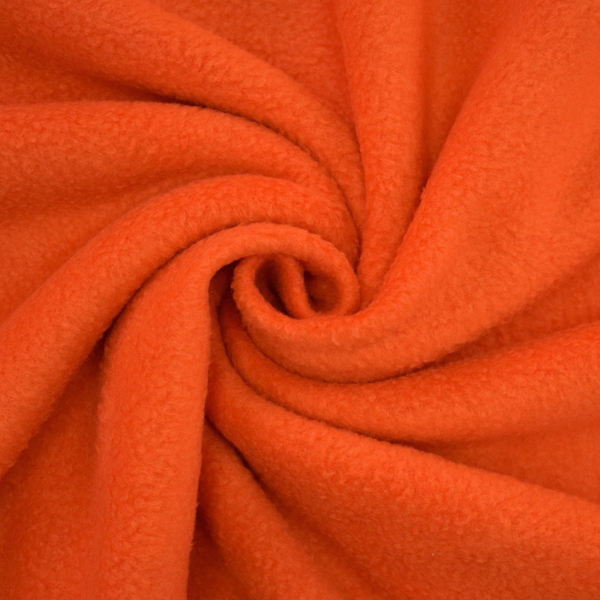 Fleece Antipilling orange