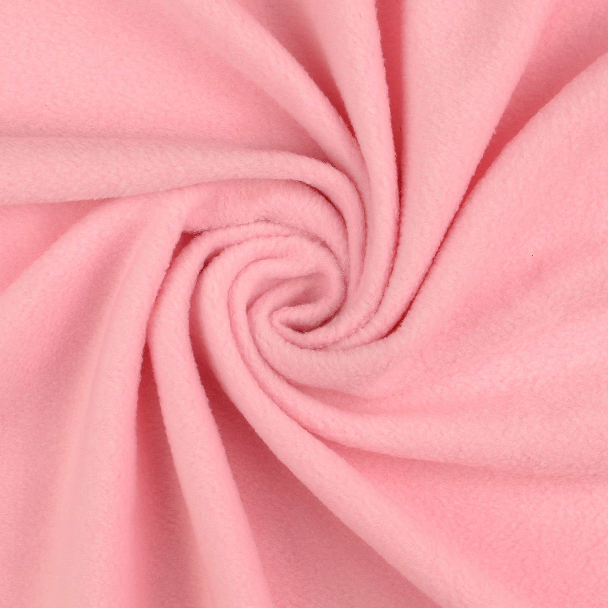 Fleece antipilling pink