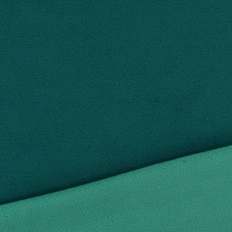 tissu polaire double face bleu p trole bleu p trole clair tissus. Black Bedroom Furniture Sets. Home Design Ideas
