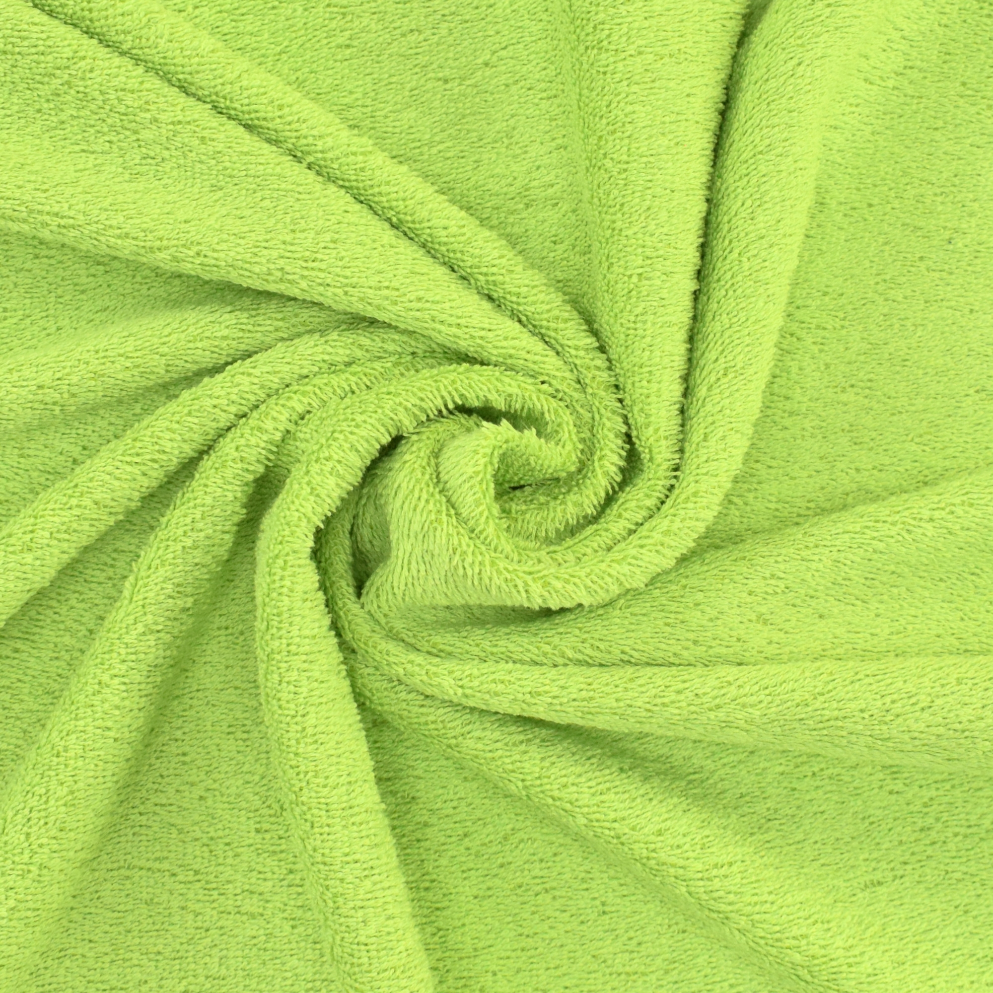 Terrycloth apple green | 100.024-5035 | grün