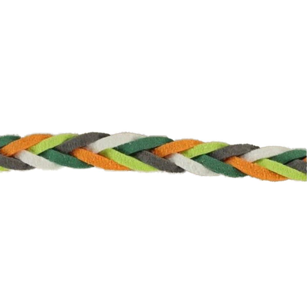 Geflochtenes Hoodieband Farbmix, orange ,grün, ...