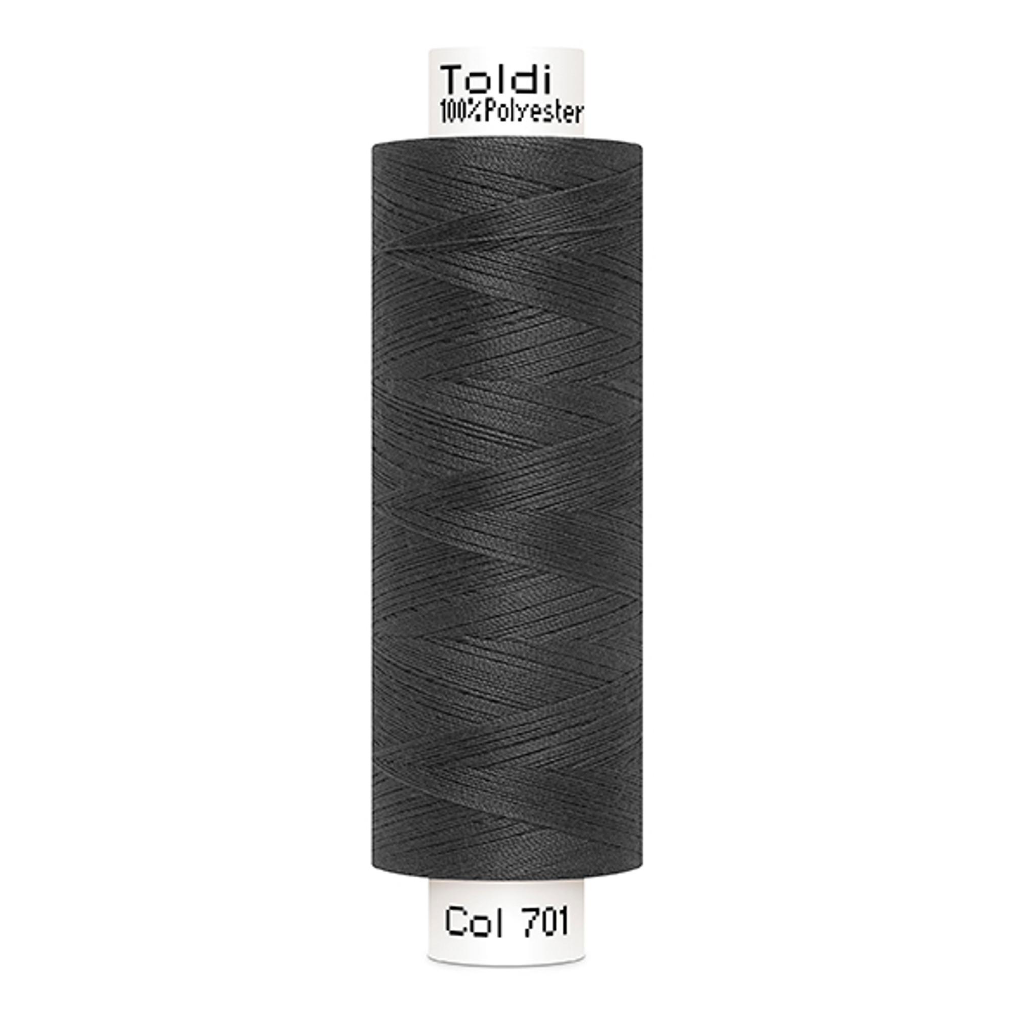 Gütermann Toldi Sewing Thread, 500 m dark grey | 707589-701 | grau
