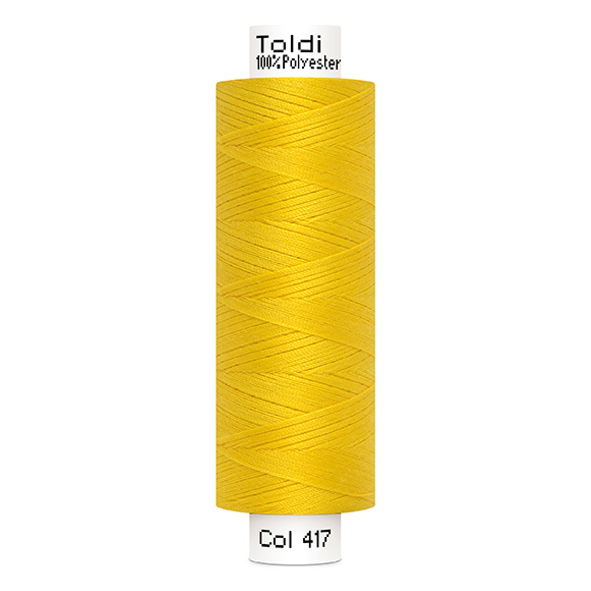 Gütermann Toldi Sewing Thread, 500 m yellow | 707589-417 | gelb
