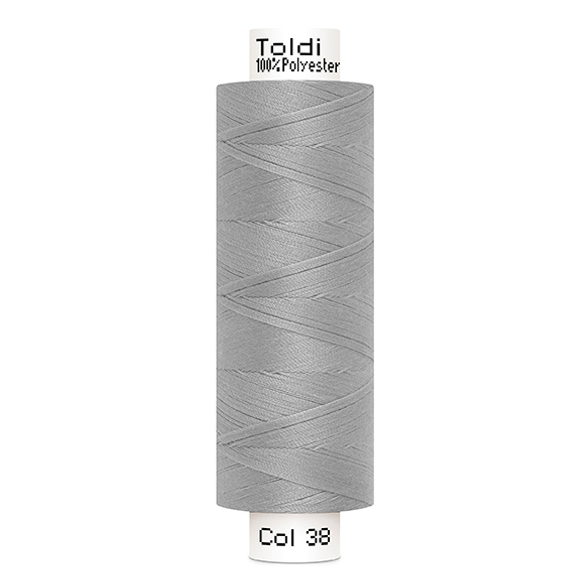 Gütermann Toldi Sewing Thread 500 m, lightgrey | 707589-38 | grau