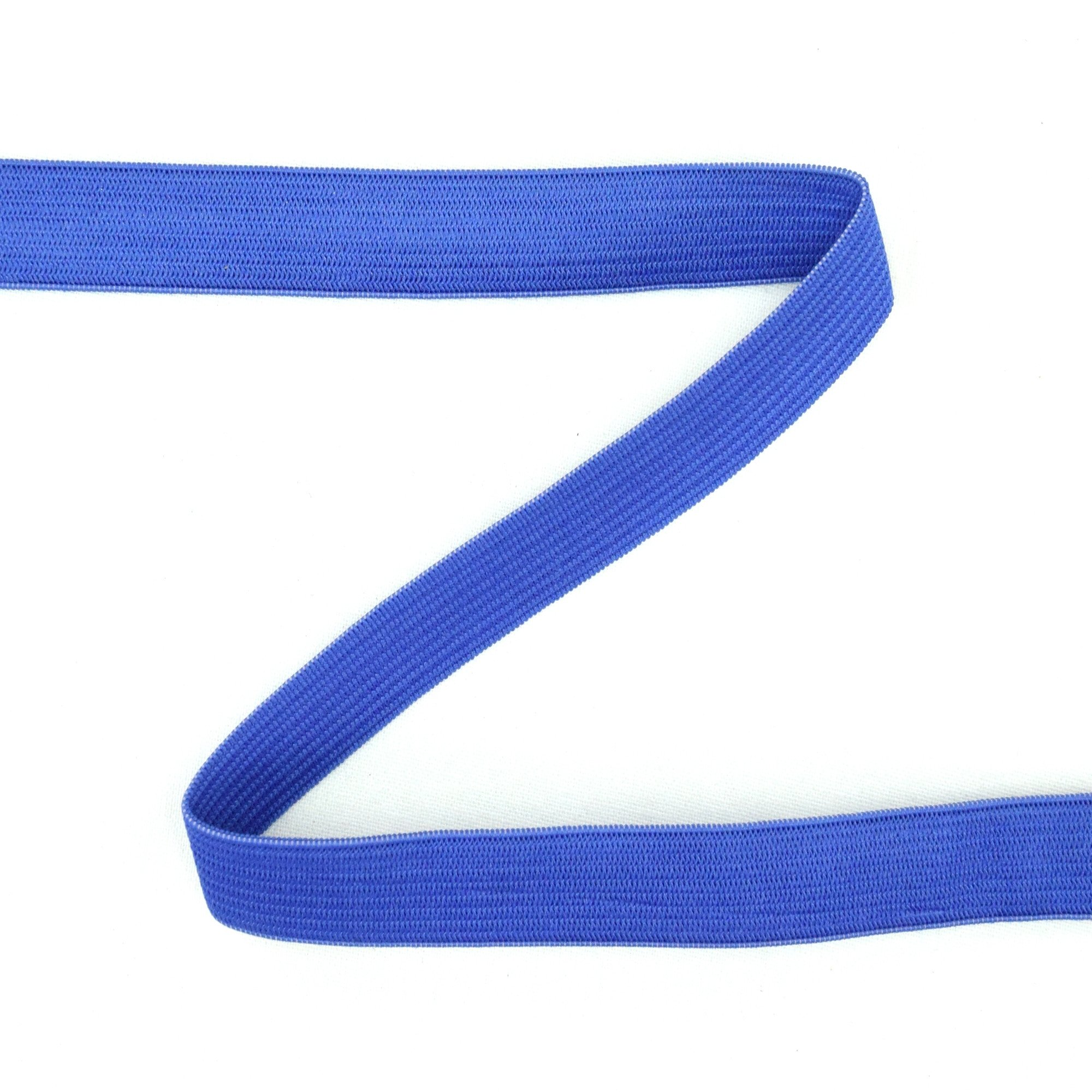 Elastic ribbon Colour Line 15 mm, blauw