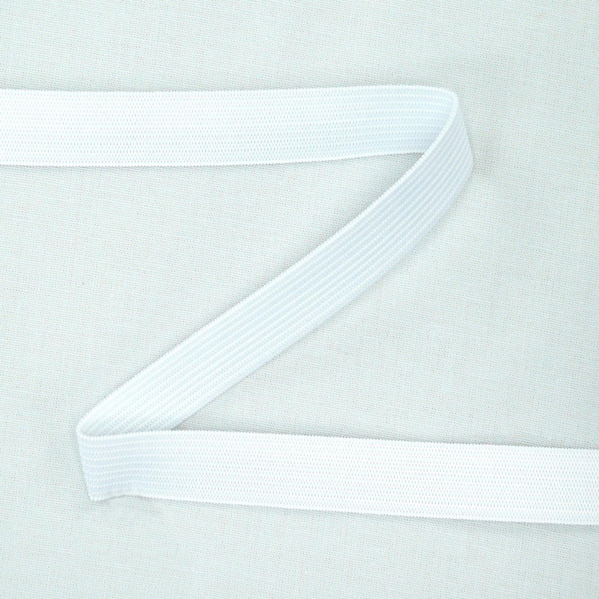 Elastic ribbon Colour Line 15 mm, white