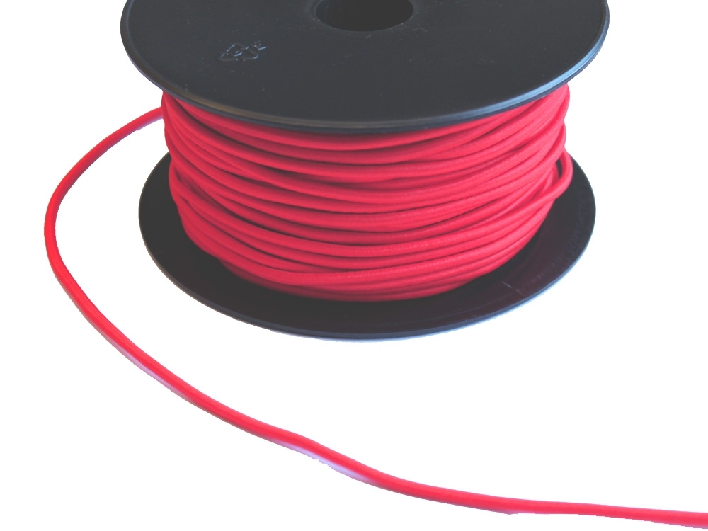 Cordon élatique chapeau rouge 3mm | 903-8 |