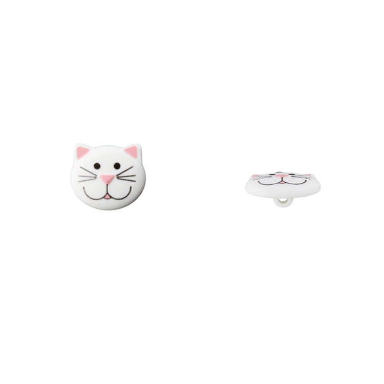 Children Button Cat 20 mm