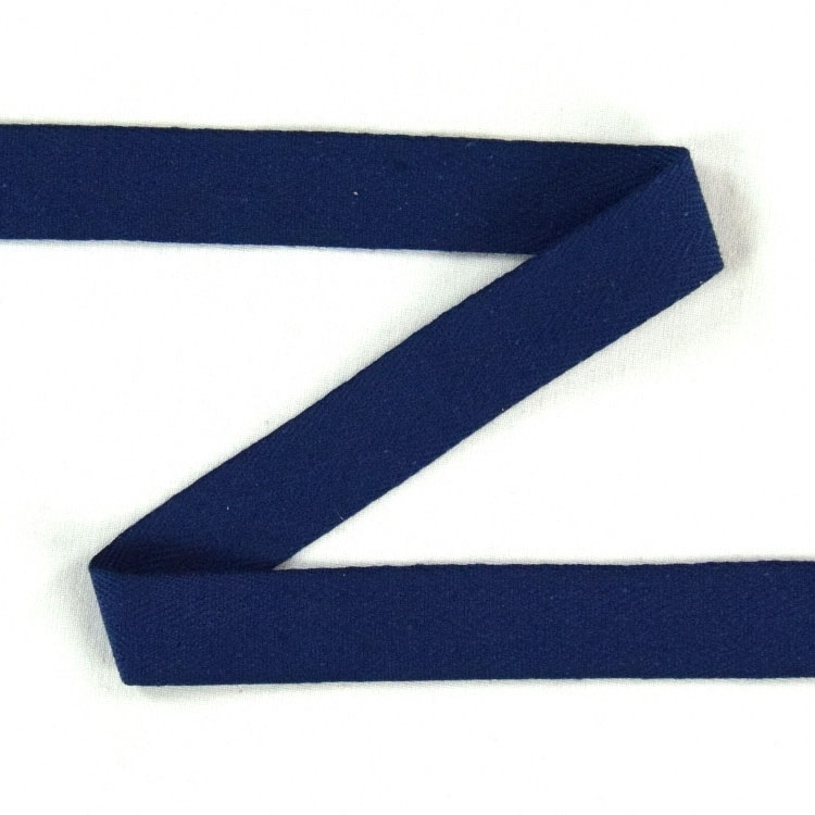 Twill ribbon, 20 mm, dark blue | S107-20-23 | blau