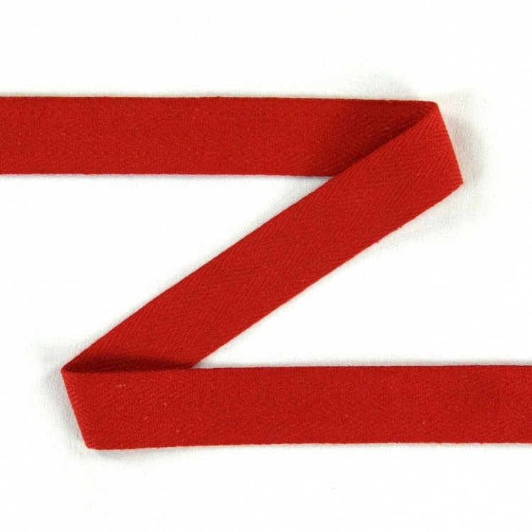 Twill ribbon, 20 mm, red | S107-20-08 | rot