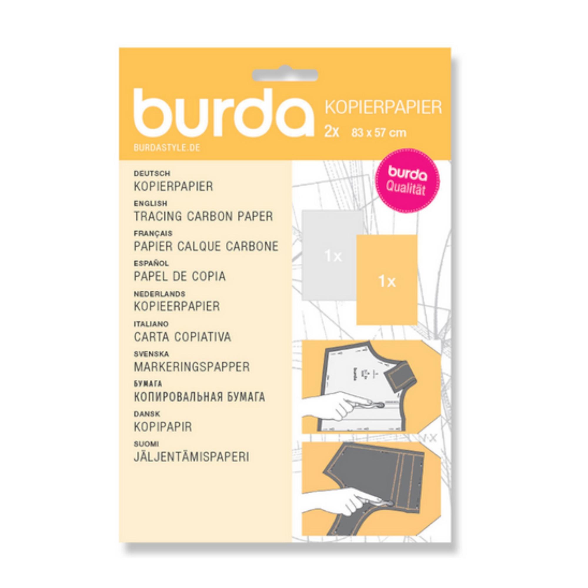 Kopierpapier weiß/gelb