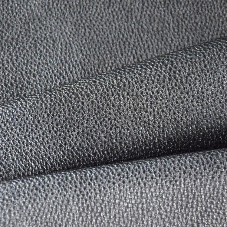 kunstleder zuschnitt metallic matt dunkelgrau 66 x 45 cm stoffe. Black Bedroom Furniture Sets. Home Design Ideas