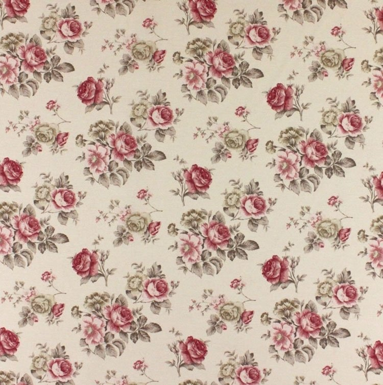 Cottage roses-fabric 8