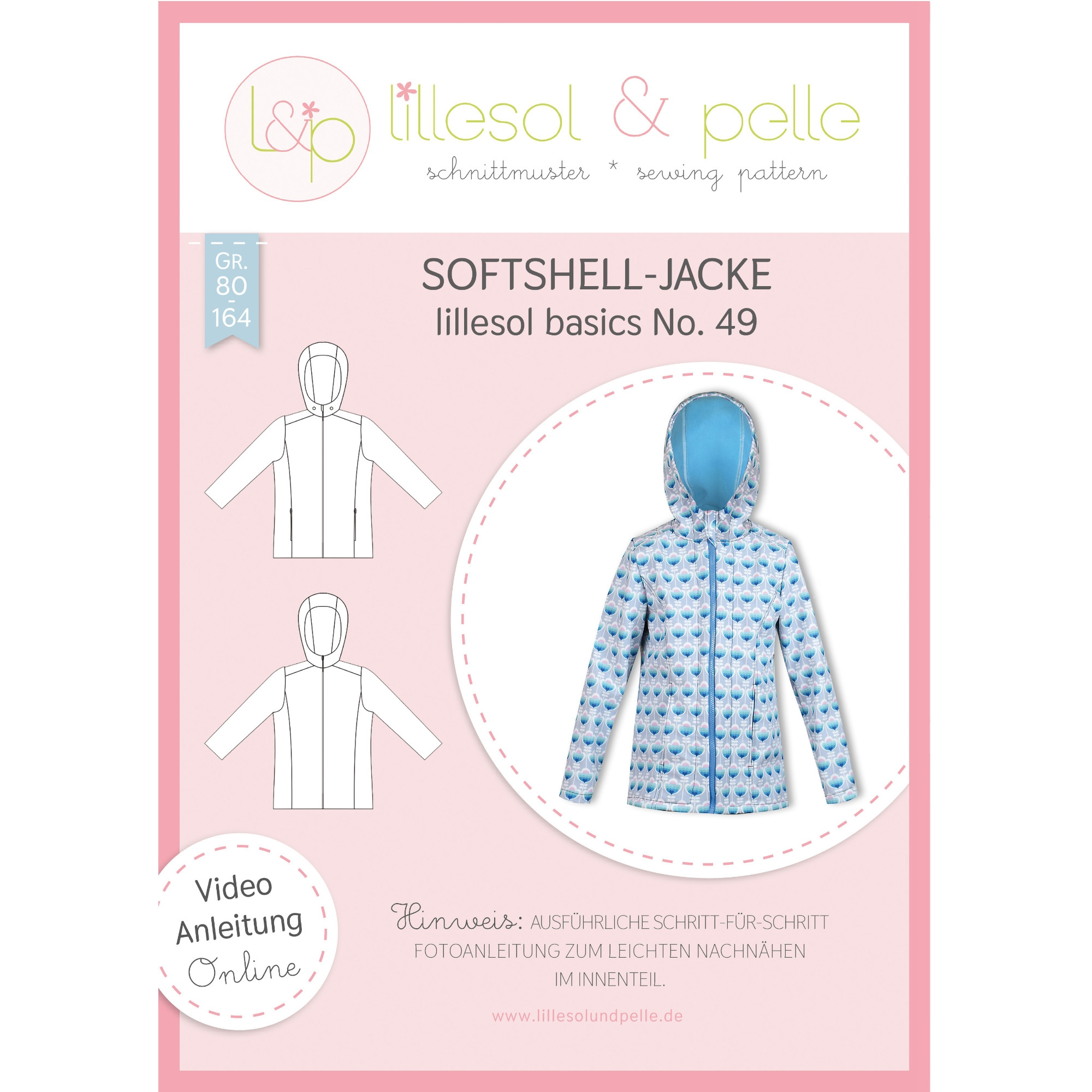 Lillesol Basic No. 49 Softshell Jacket Kids Paper pattern
