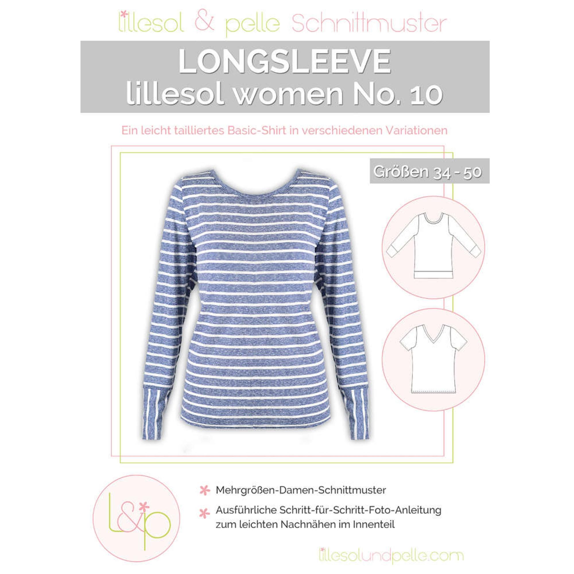 Lillesol Women No. 10 Longsleeve Papierschnittm...