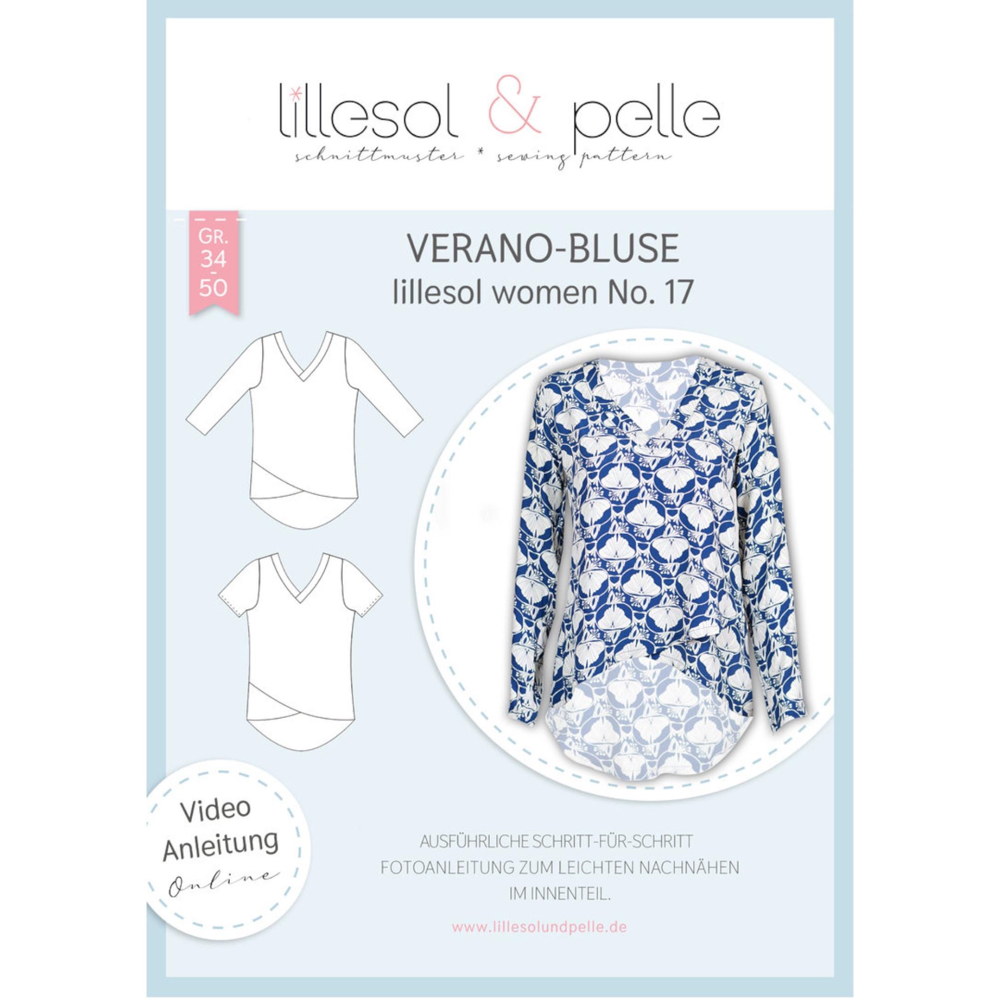 Lillesol Women No. 17 Verano Bluse Papierschnit...