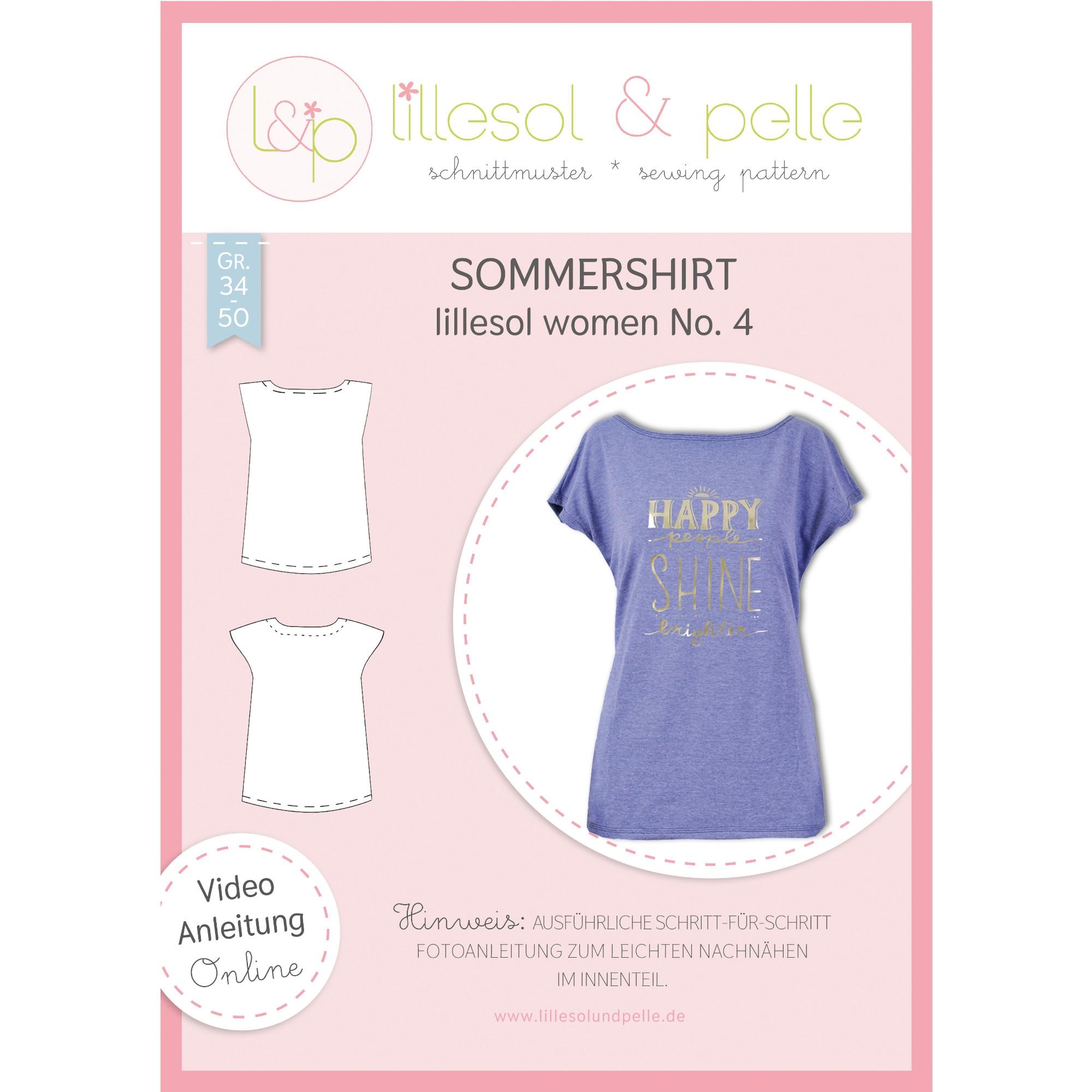 Lillesol Women No. 4 Sommershirt Papierschnittm...