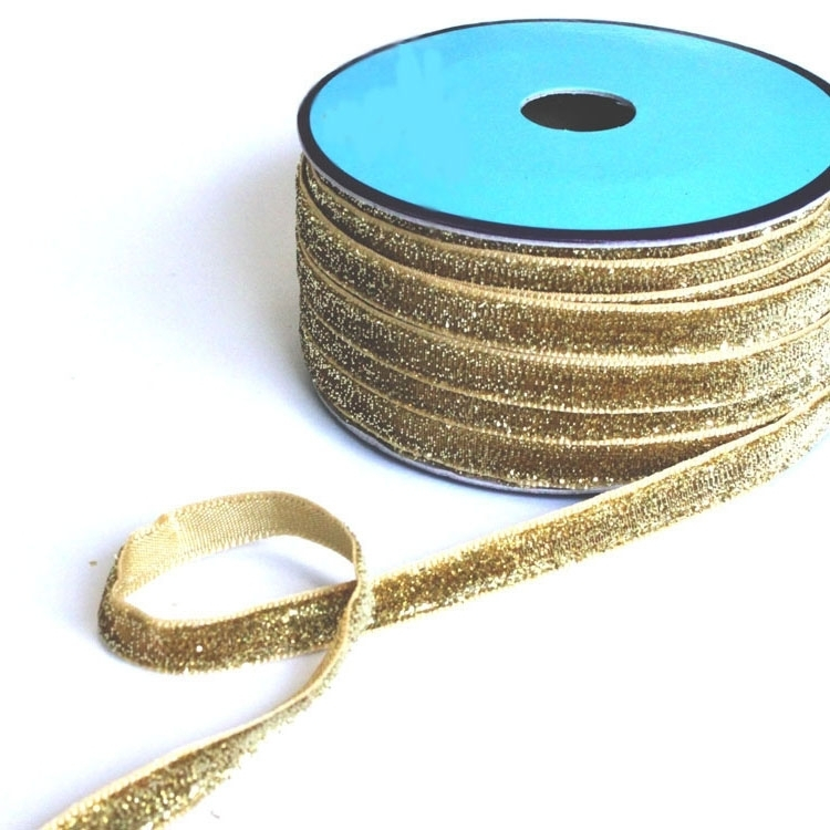 Lurex tape, 10 mm, gold | 7453-003 | gold