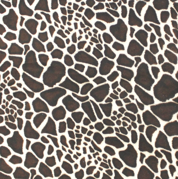 Microfleece Fellimitat Giraffe