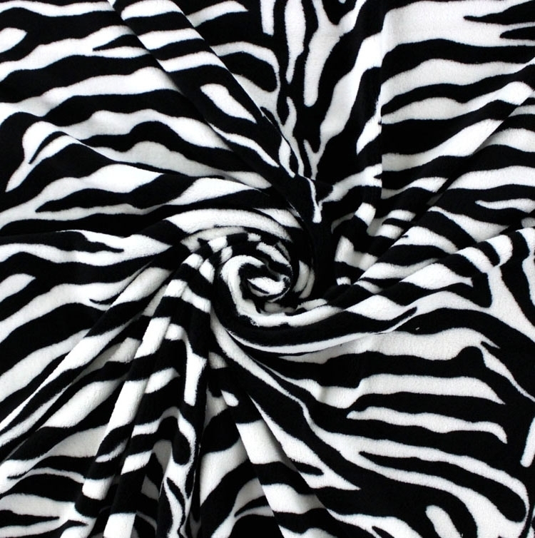 Microfleece Fellimitat Zebra