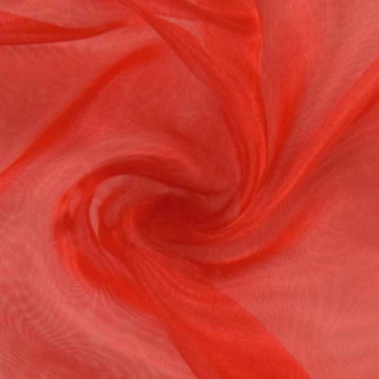 Organza rouge | 100.125-5019 | rot