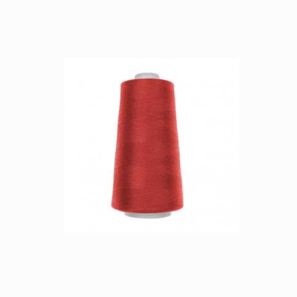 Overlock yarn rouge