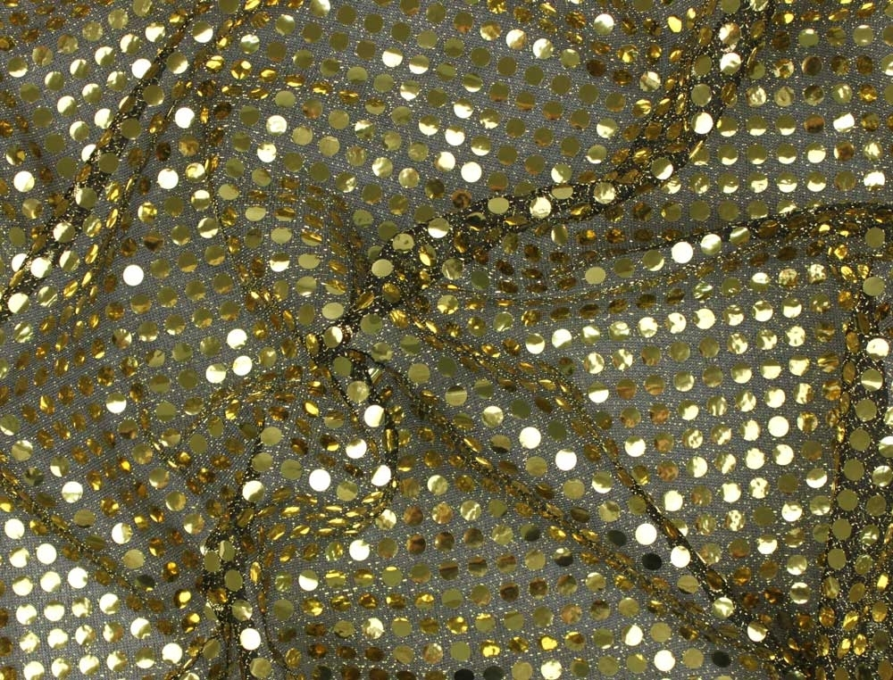 Sequin Jersey gold/black | 100.058_0100 | gold