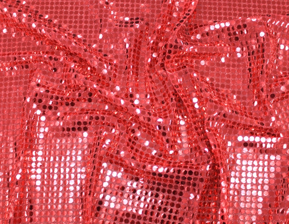 Tissu Paillettes rouge | 100.058-0006 | rot