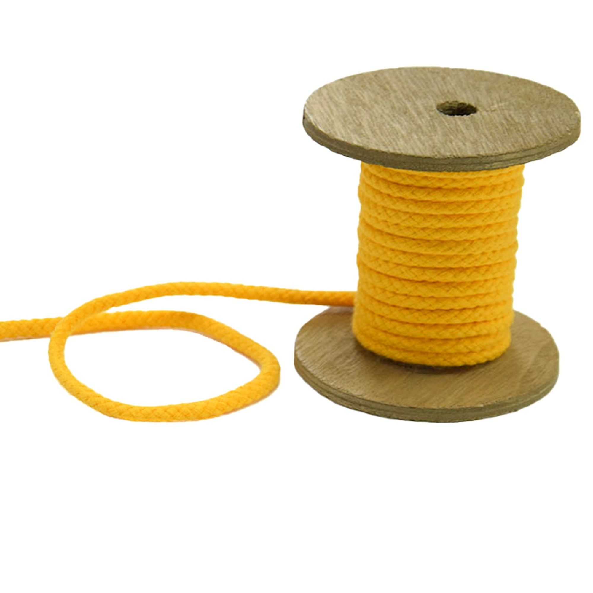 Parka knurling twisted 5mm, yellow