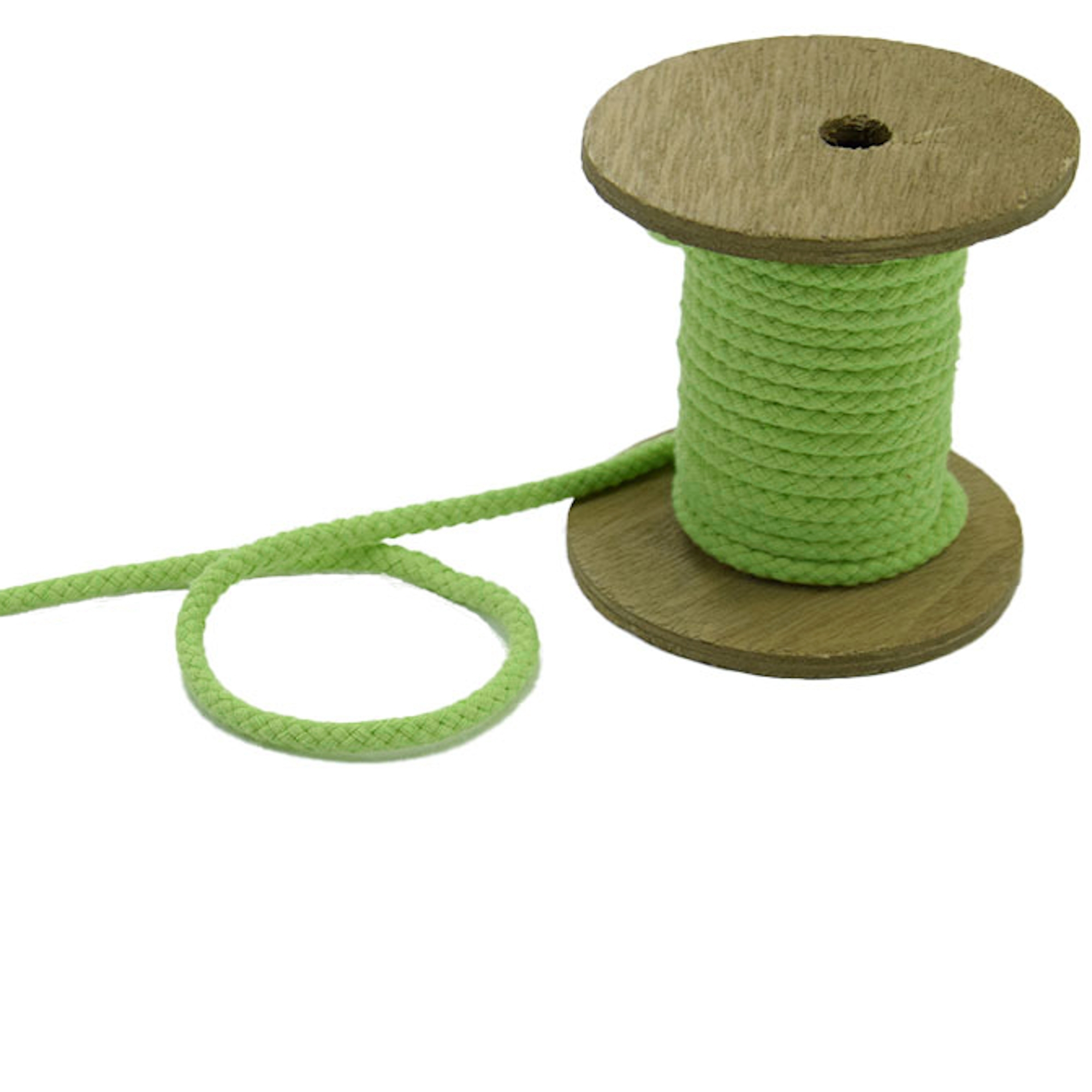 Corde pour veste 5 mm, light green | 42273 | grün