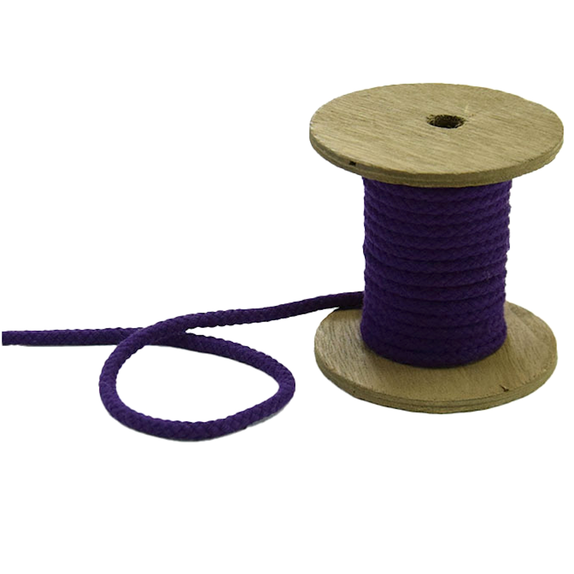 Sznurek do kurtki 5 mm, purple | 42278 | violett