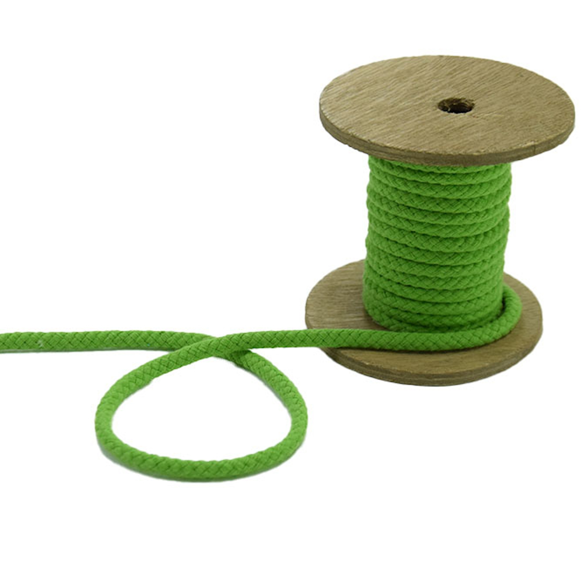 Corde pour veste 5 mm, medium green | 42274 | grün