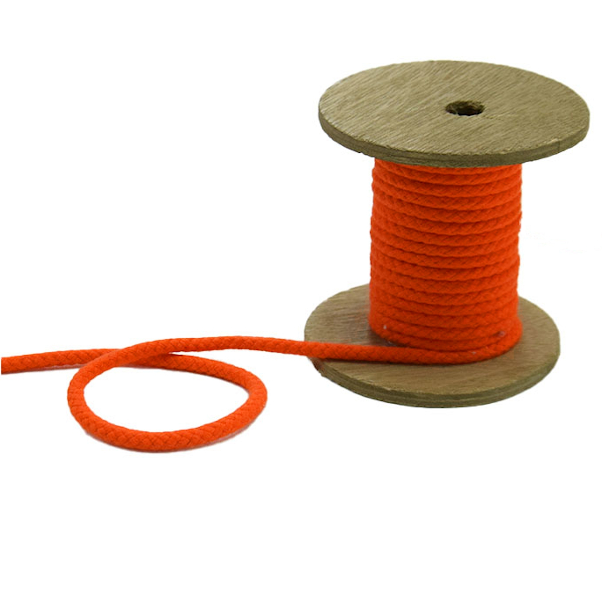 Corde pour veste 5 mm, orange | 42277 | orange