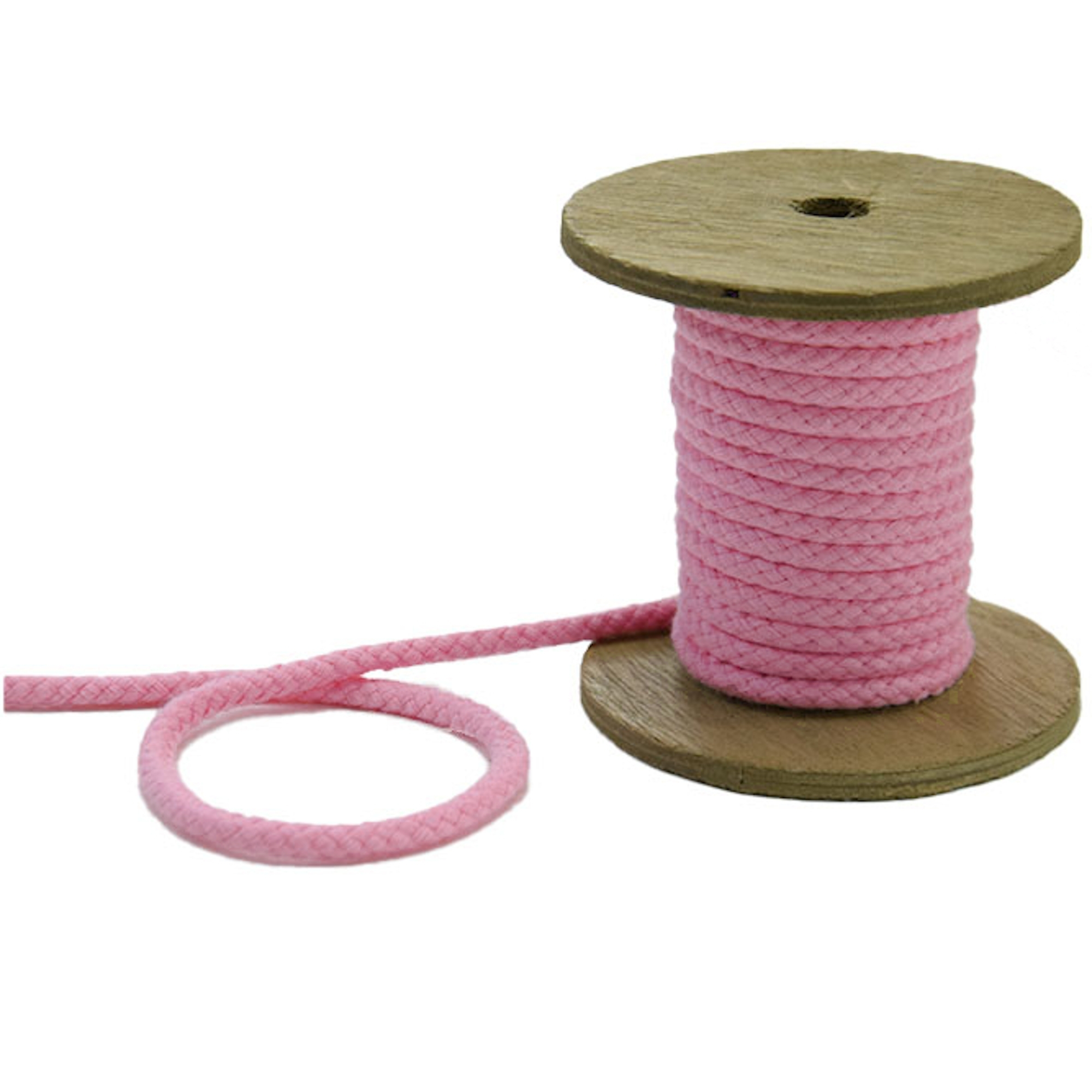 Sznurek do kurtki 5 mm, rosé | 42270 | rosa