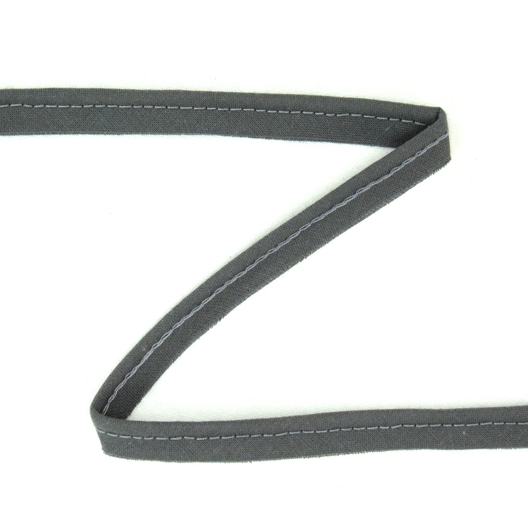 Piping ribbon, dark grey | 310-133 | grau