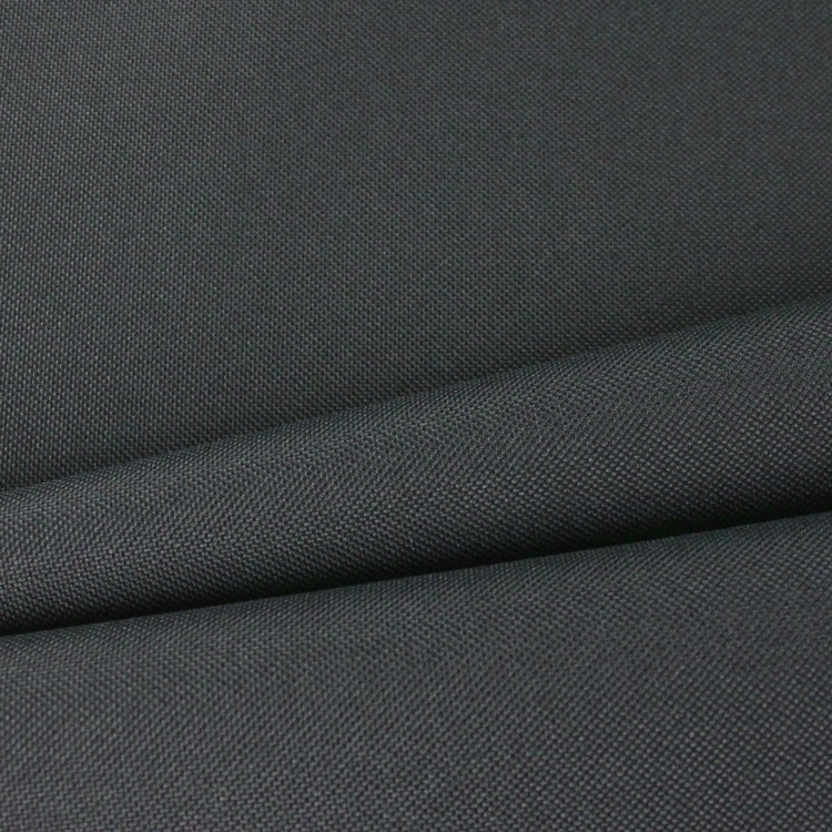 Polyester Outdoor fabric uni gris foncé | tissus-hemmers.fr