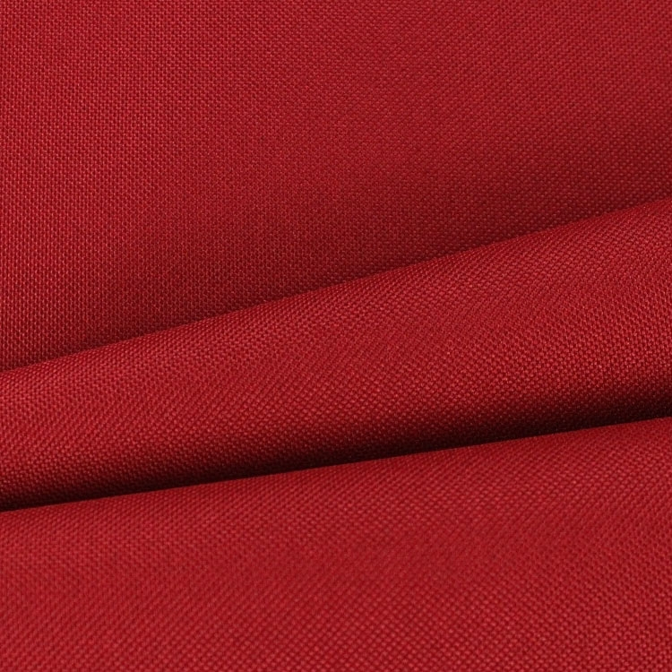 Polyester Outdoorstoff uni dunkelrot