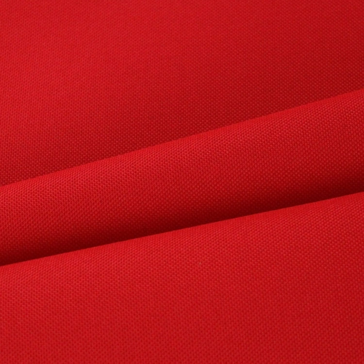 Polyester Outdoor stof uni rood