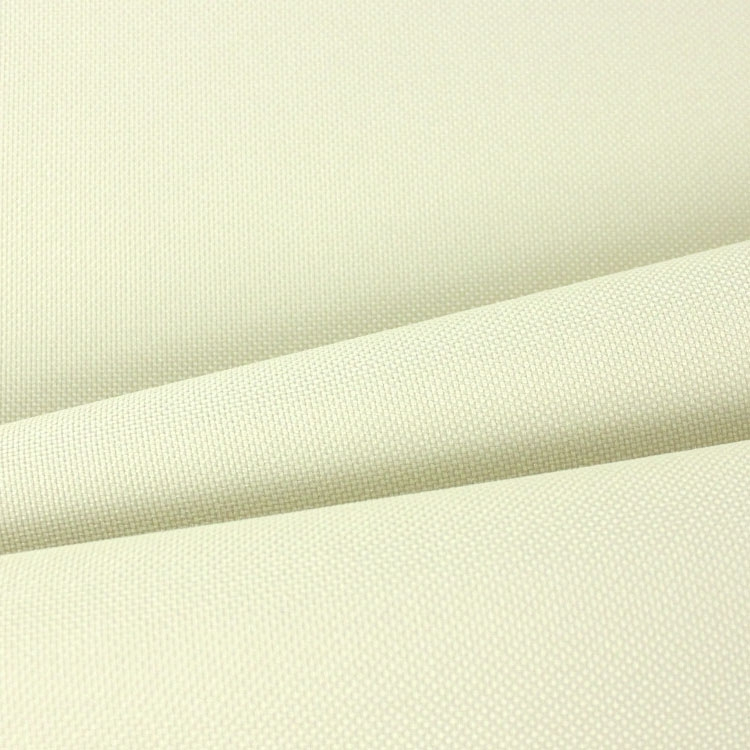 Polyester outdoorstof uni, vanille | 121.377-5004 | creme