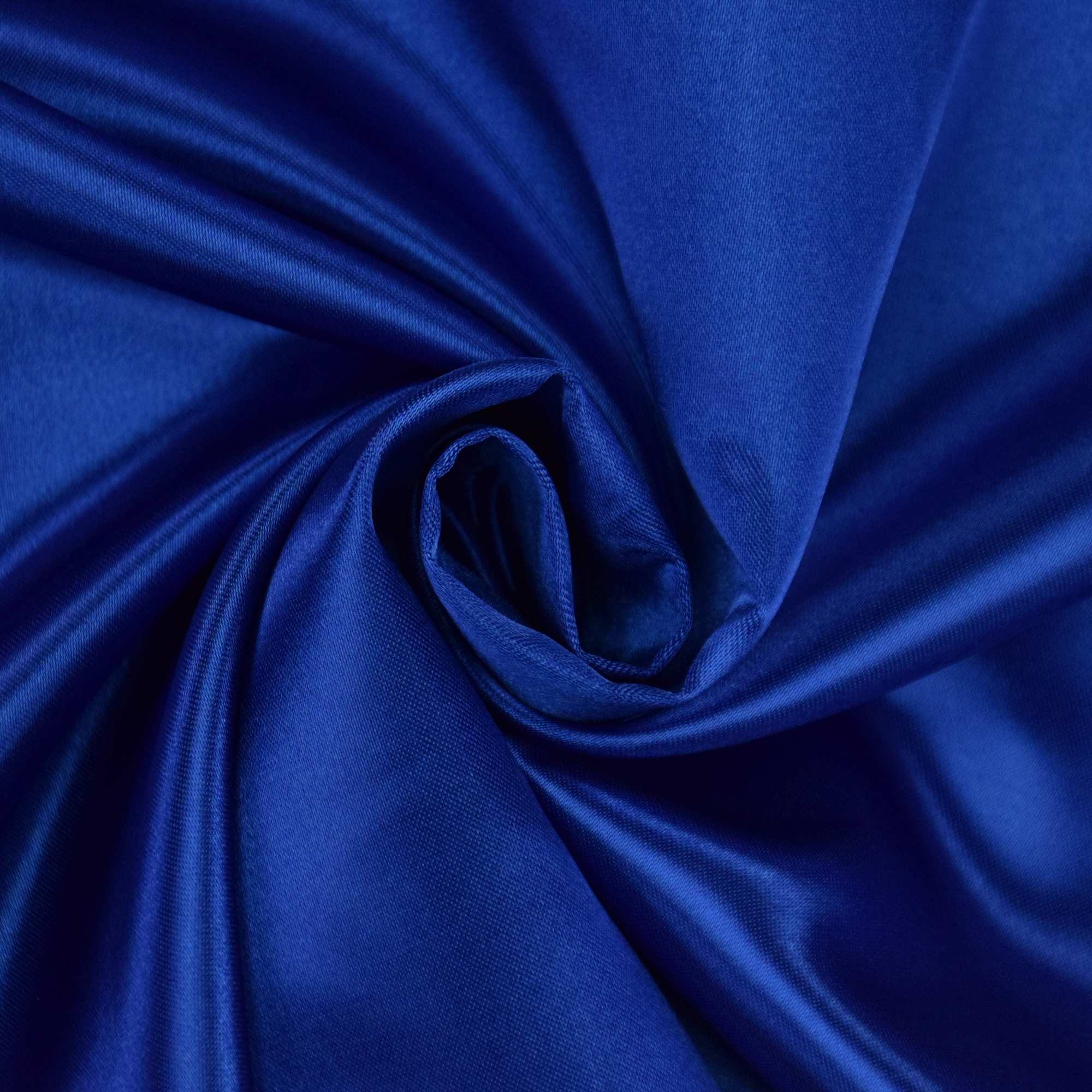 Polyester satin blue | 100.075-5027 | blau