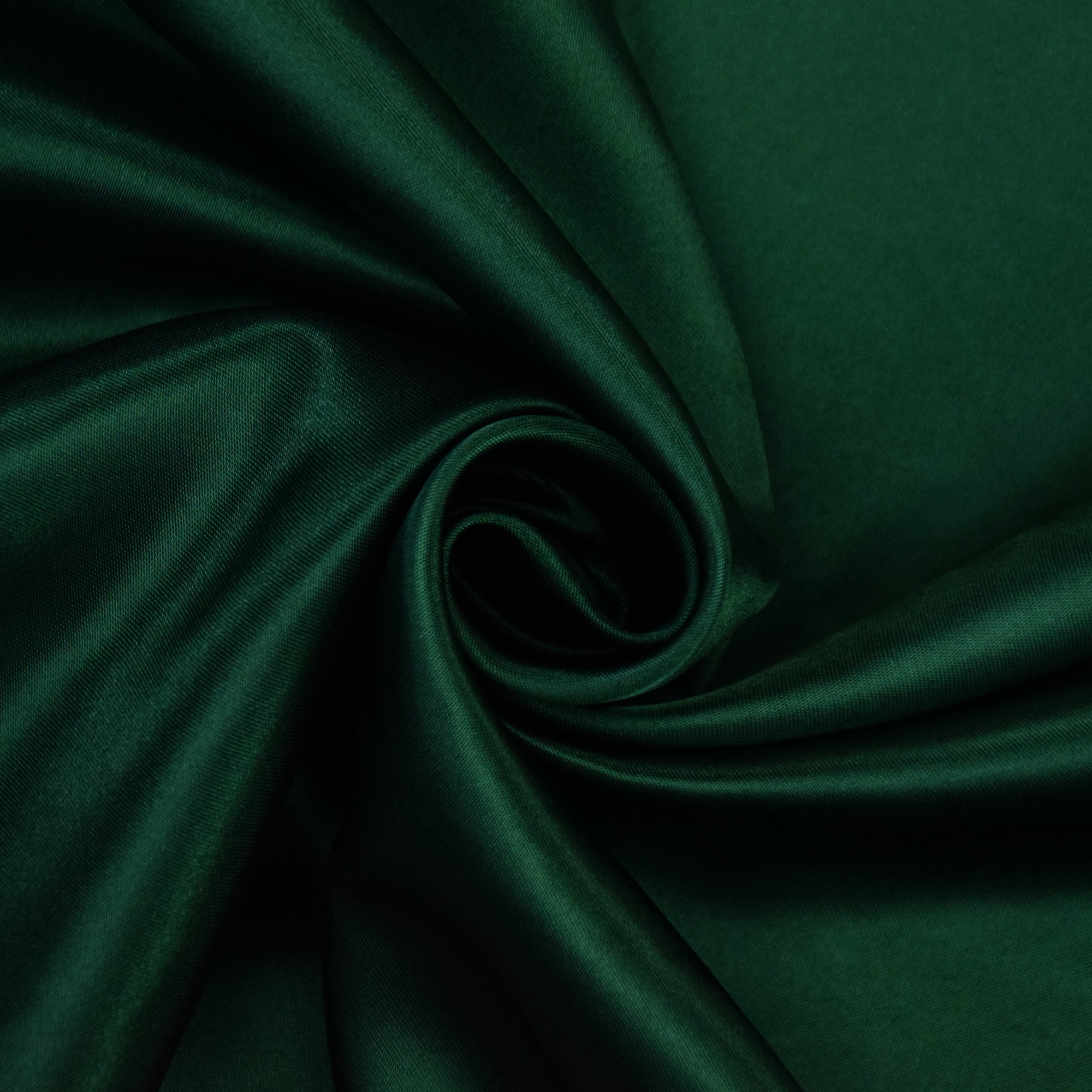 Polyester-Satin fir green