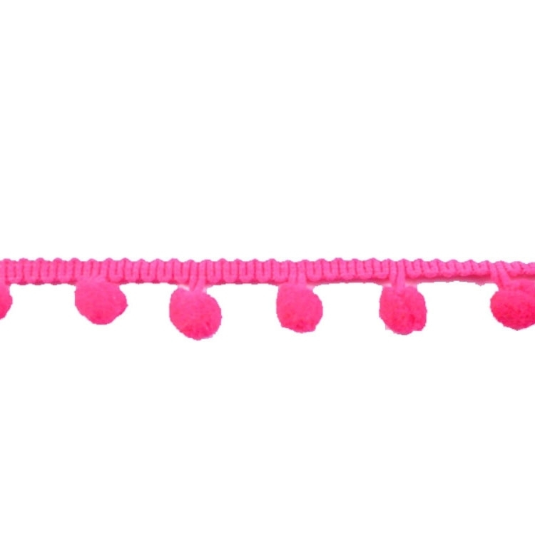 Bolletjesband middel, pink 20 mm | 10024 | pink