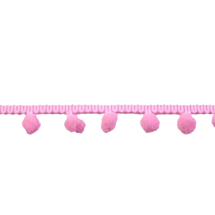 Bolletjesband middel, roze 20 mm | 10018 | rosa